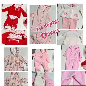 Bundle and save 3-6 months girls clothing